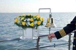Seebestattungen Krautsand Schiffsglocke
