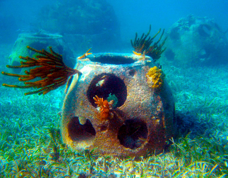 Seebestattungen Krautsand Memorial Reef Venedig